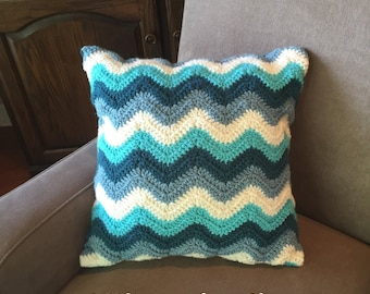 Crochet PATTERN Pillow Cover- Chevron - Pillow Cover - Home Deco