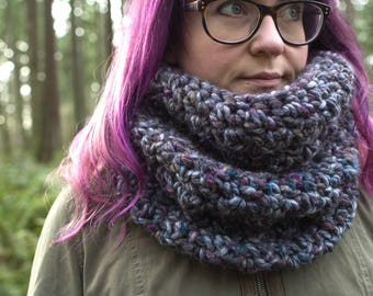 Oversized Chunky Cowl || The Cascade (Multicolor)