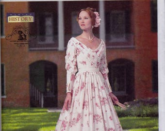 B5832 Butterick Civil War/Wedding Dress Sewing Pattern Sizes 14-16-18-20-22 Historical Costume Rated Advanced