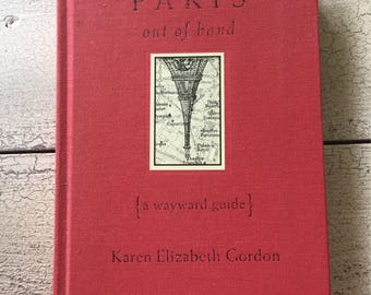 Vintage Paris Travel Book ... Paris Out of Hand ... Free Shipping