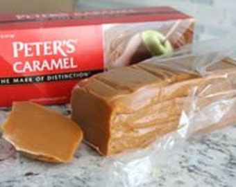 Peters Caramel for Candy Making/ 5 Pound Melting Caramel/ Caramel for Candy Apples/ Caramel for Turtles/ High Quality Melting Caramel