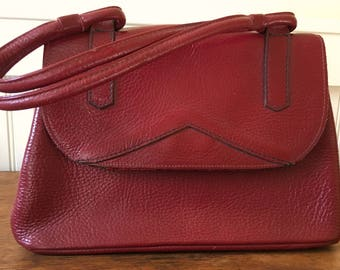 Red Leather Purse, 1970s