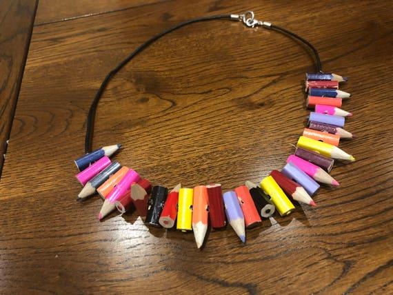 Charlies Pencil Necklace