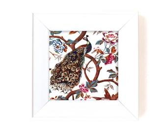 Paper napkin for decoupage x 1. Peacock . No 1268