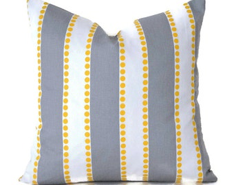Pillow Covers ANY SIZE Pillow Cover Grey Pillow Pillows Premier Prints Lulu Storm Grey