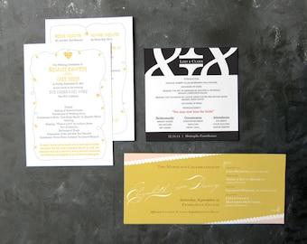 Wedding Programs (various)