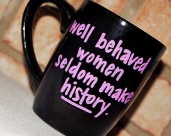 Quote mug- Custom Mug- Custom Coffee Mug- Custom Tea cup- Personalized Mug- Customized mug- Design Your Own Mug- Statement Mug