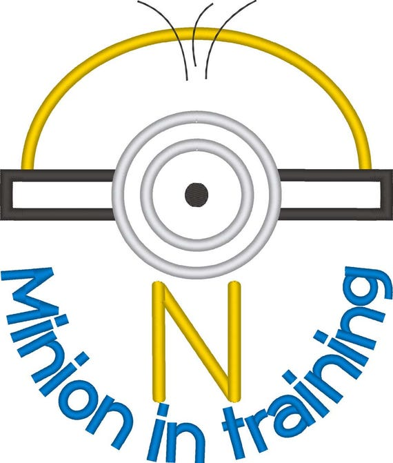 SAMPLE SALE, Minion in Training Inspired Shirt - Minion Birthday Shirt - Banana - Universal Studios Vacation -