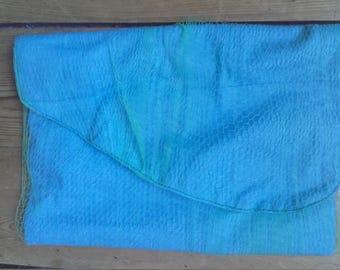 Lagoon blue pouch