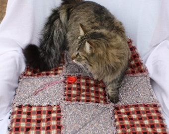 Pet Furniture, Sofa Cover for Pets, Cat Bed, Pet Blanket, Gray Plaid Pet Blanket, Pet Supplies, Luxury Pet Blanket, Pet Bedding, Cat Blanket