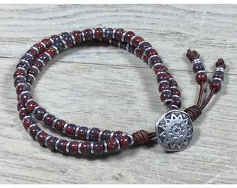 Beaded Bracelet, Boho Wrap, Boho Bracelet, Seed Bead Bracelet, Wrap Bracelets for Women, Boho Wrap Bracelet, Beaded Wrap Bracelet, Boho Chic