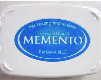 Encreur MEMENTO - Bleu BAHAMA