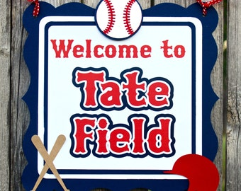 Baseball Birthday - Sports Birthday - Baseball Baby Shower - Baseball Decor - Baseball Sign