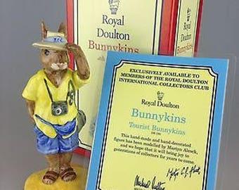 Royal Doulton Bunnykins - Tourist - DB190 - Boxed