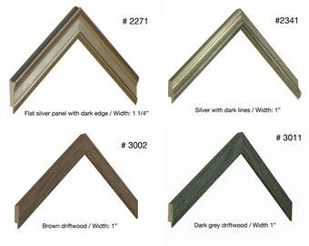 Professional, Archival Custom Framing, double mat, and plexiglass