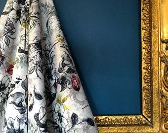 Furtiva Lagrima textured linen fabric
