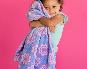 Girls Blanket, Monogrammed girls blanket, kids blanket, personalized blankets, toddler blankets, girl bedding, kids throw blankets, birthday
