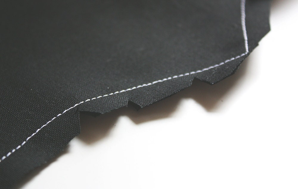 Close-up view of a DIY bat costume wing