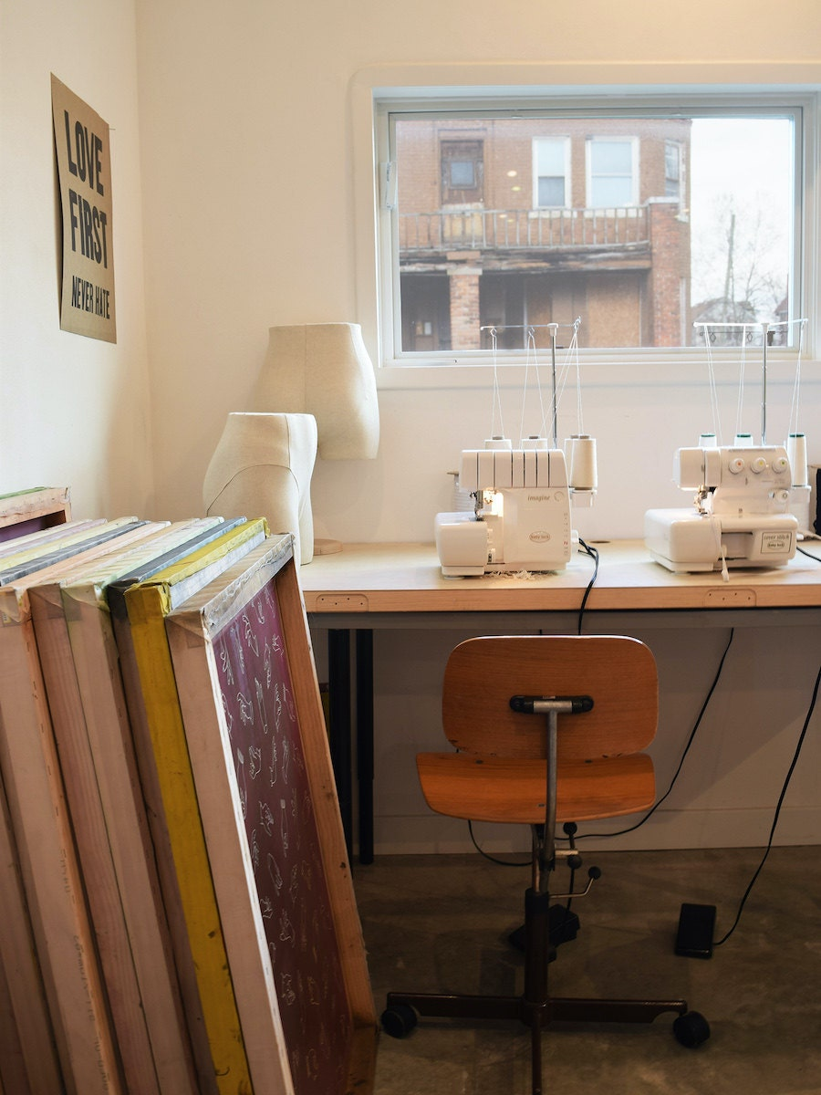 Object Apparel's sustainable design studio