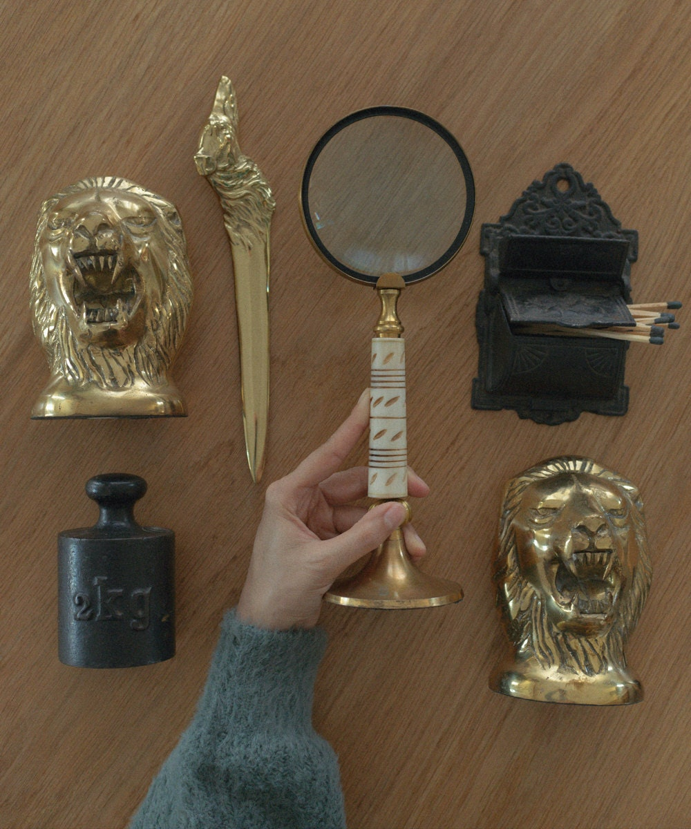 An assortment of vintage objects from Otherwise Shoppe.