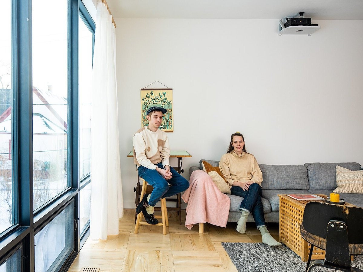 Object Apparel sellers Mollie Decker and Mike Sklenka