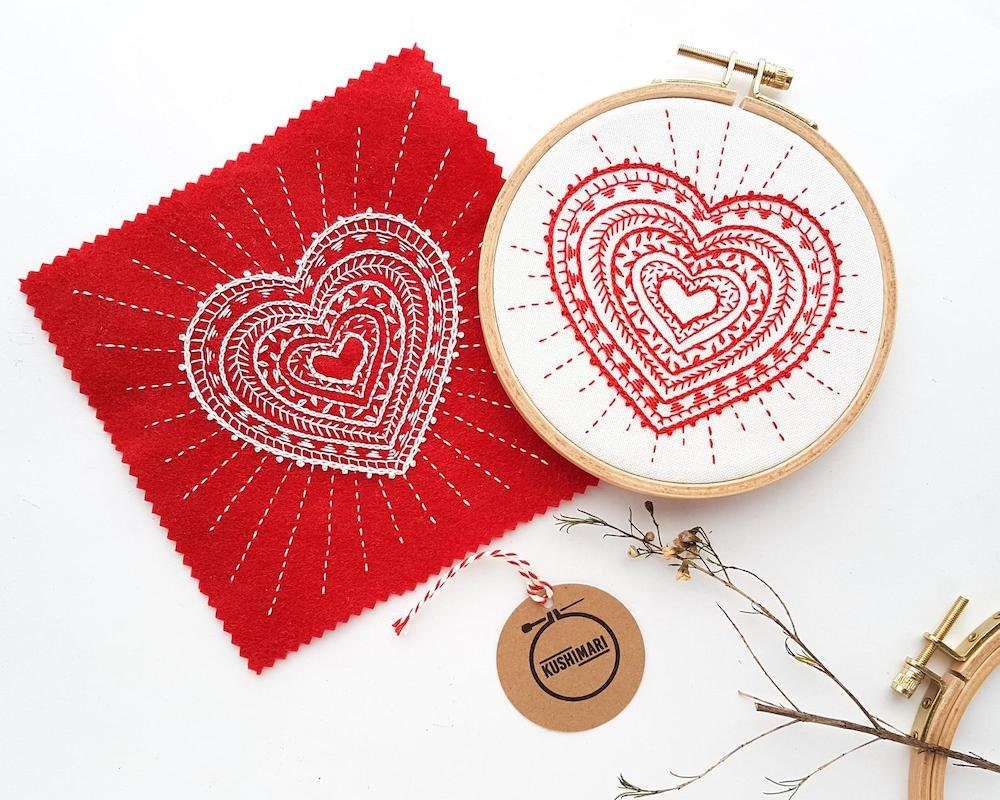 Downloadable embroidery pattern from Kushimari