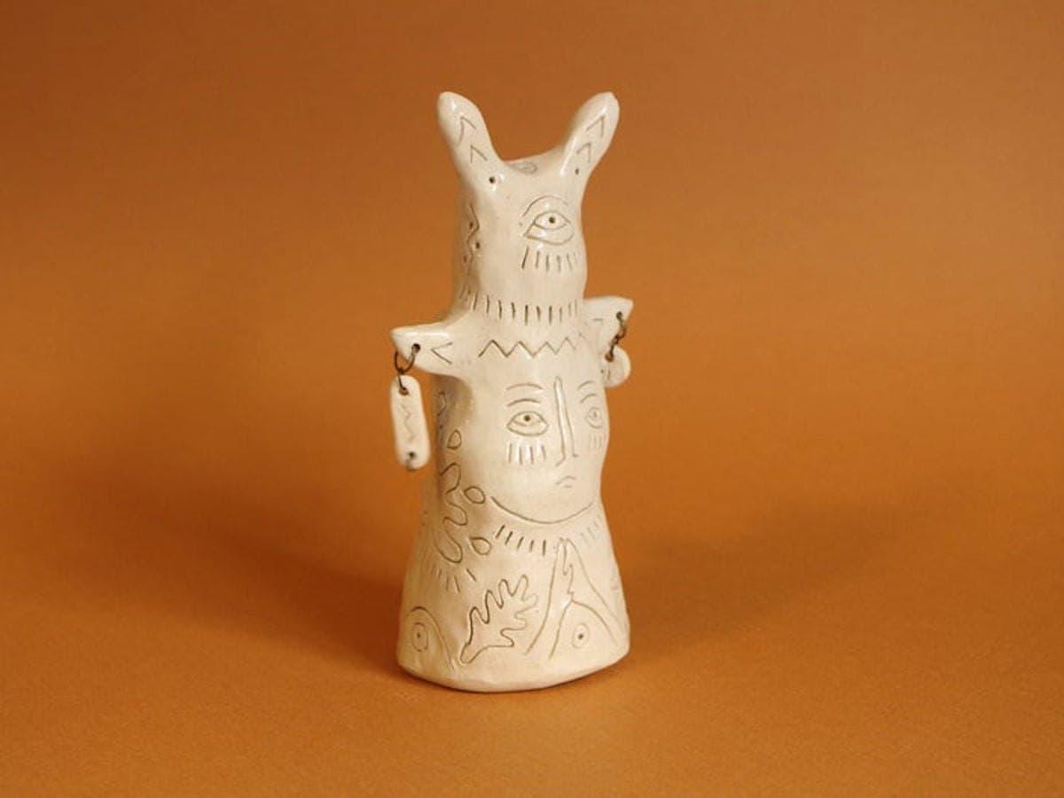 l Venado, El Búho y La Liebre totem from Perro y Arena, on Etsy