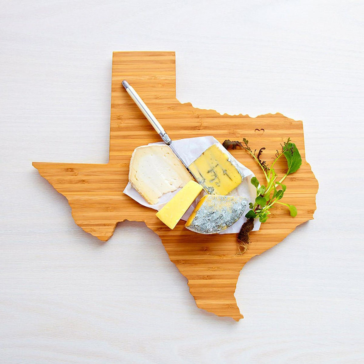 State-shaped cutting board from Etsy