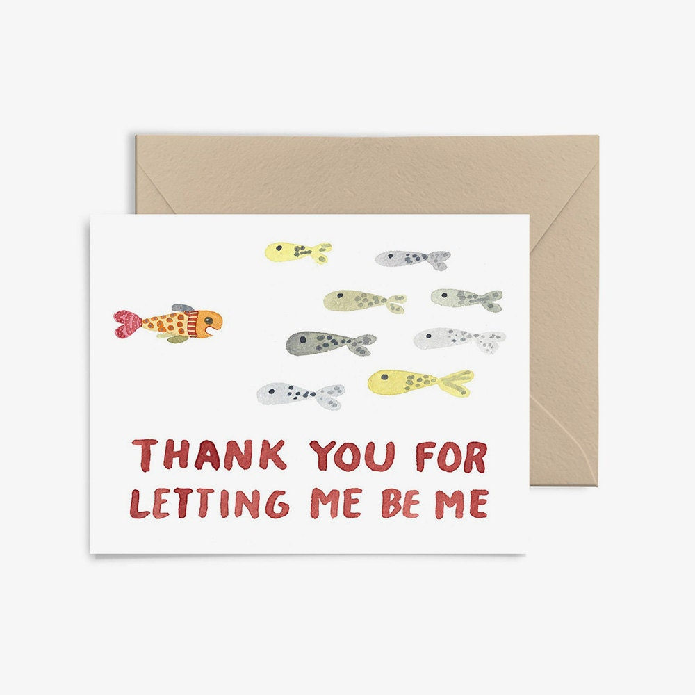A unique Mother's Day card for a mom who lets you go against the grain