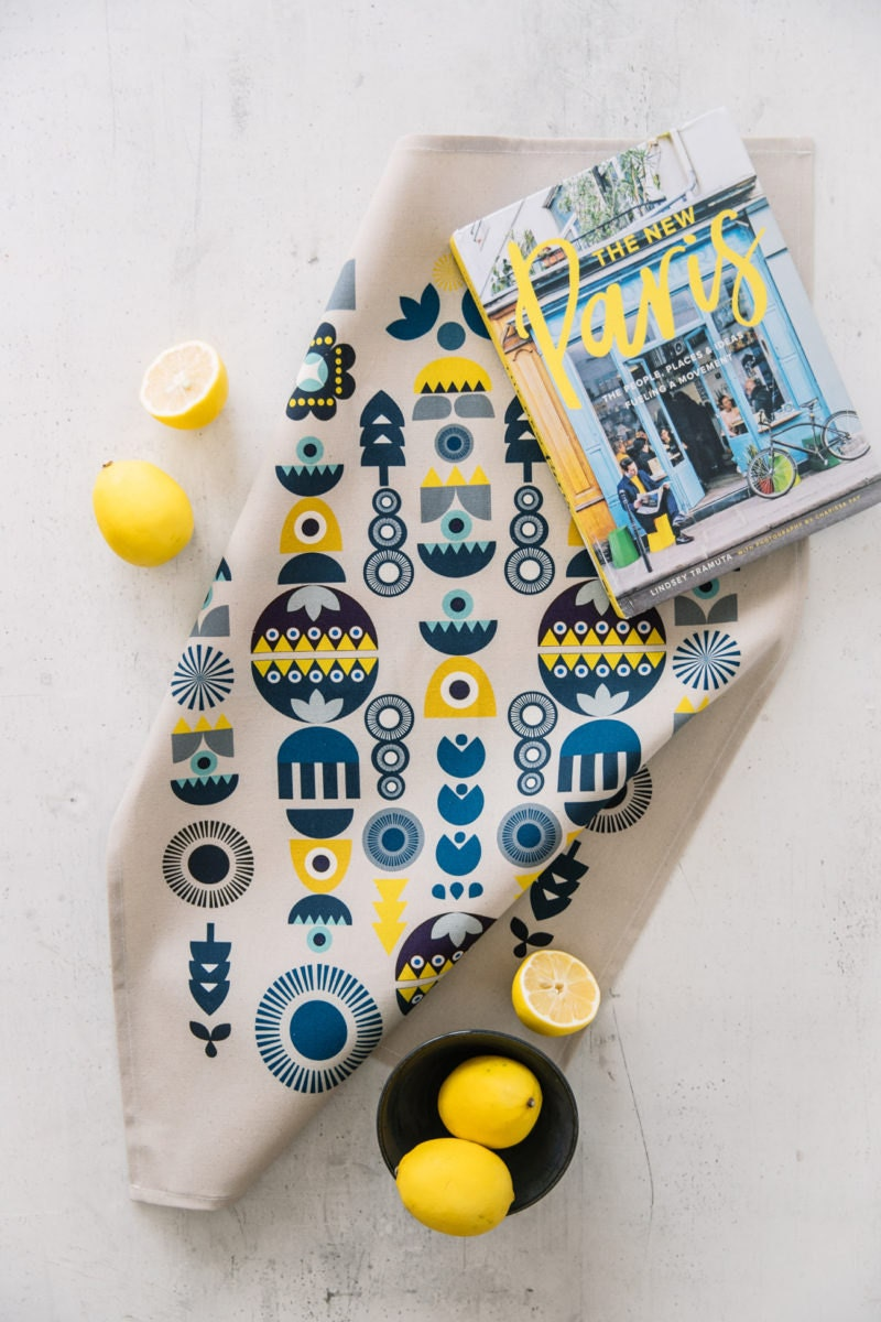 A Nordic tea towel from Softer and Wild