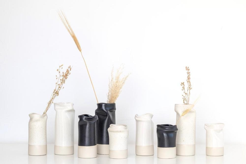 Modern vases from CLAY + CRAFT