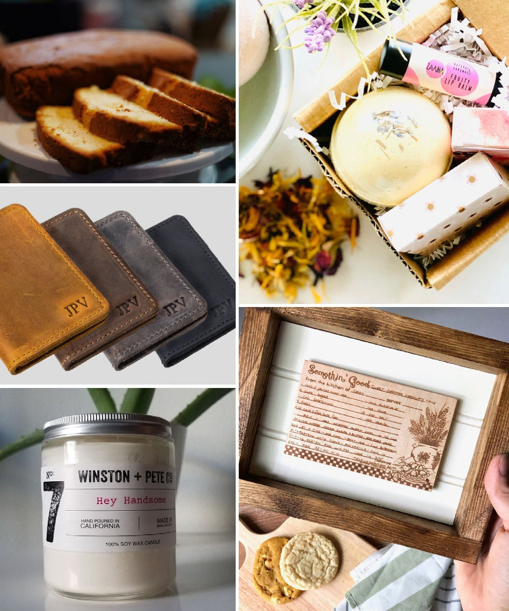 A collage of classic birthday gift ideas hand-picked for Taurus