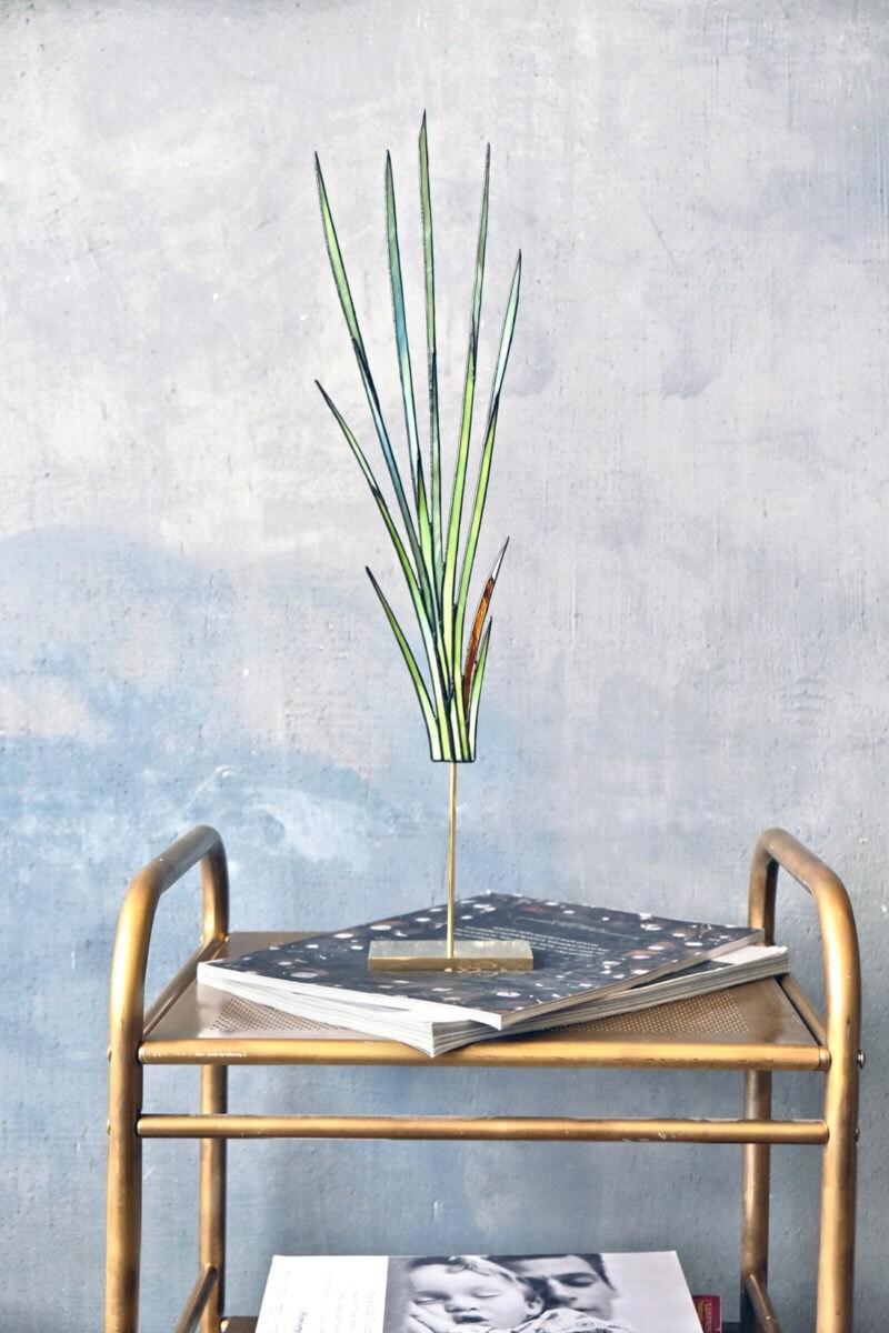 Freestaning grass suncatcher from Elena Zaycman