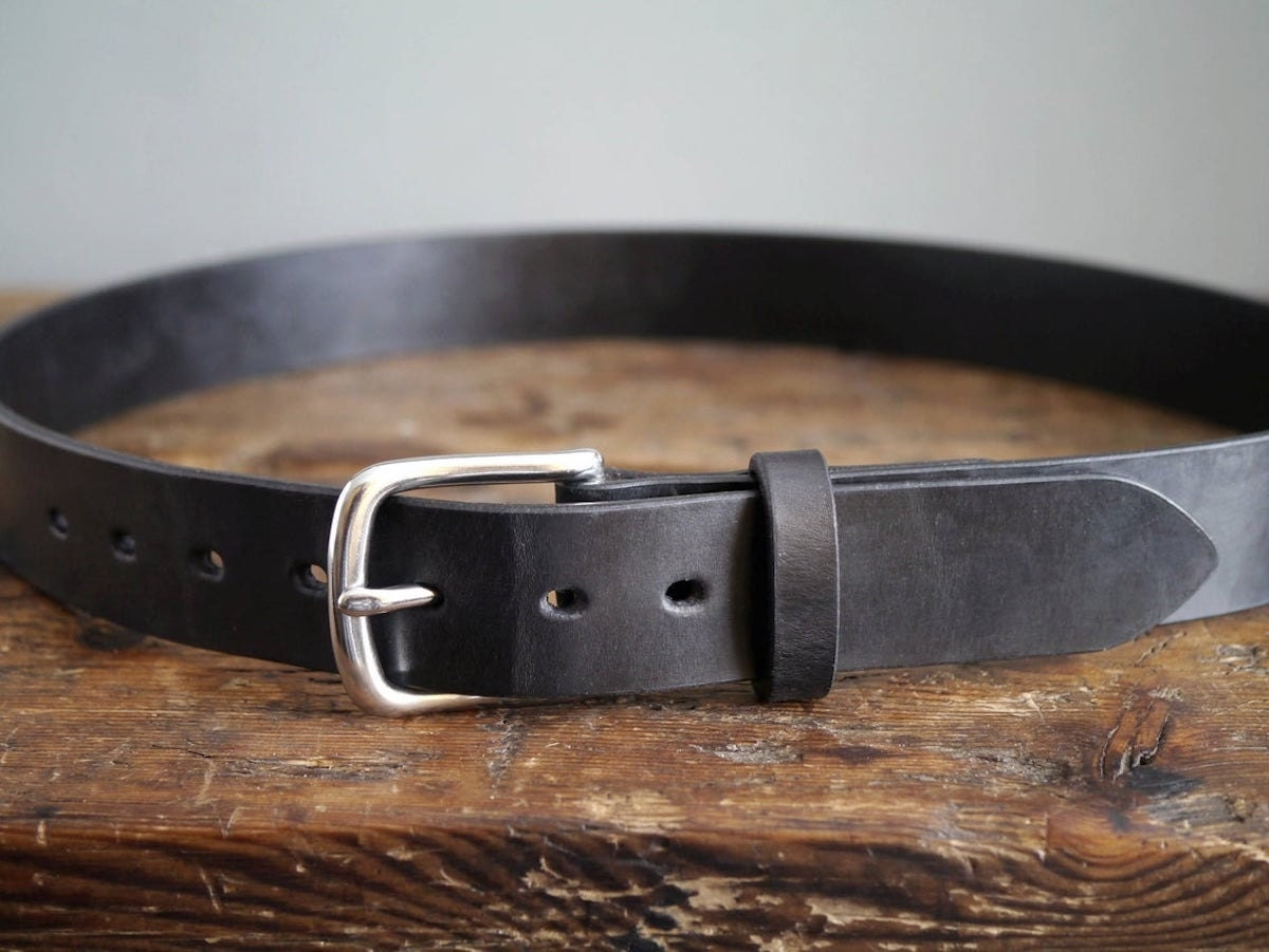 Leather belt from Kingsley Leather