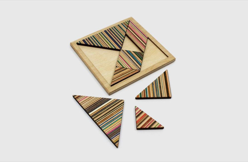 A tangram puzzle from AdrianMartinus