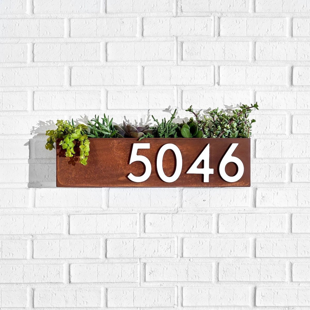 Modern house numbers from Etsy
