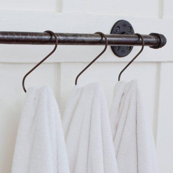 fleamarketrx-steel-towel-bar