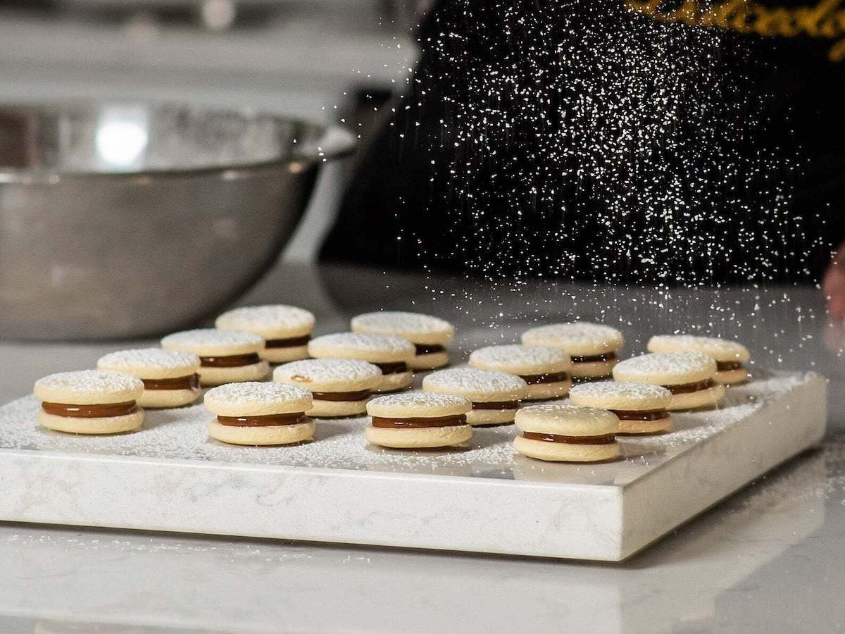 Artisanal alfajores cookies from Dulceology