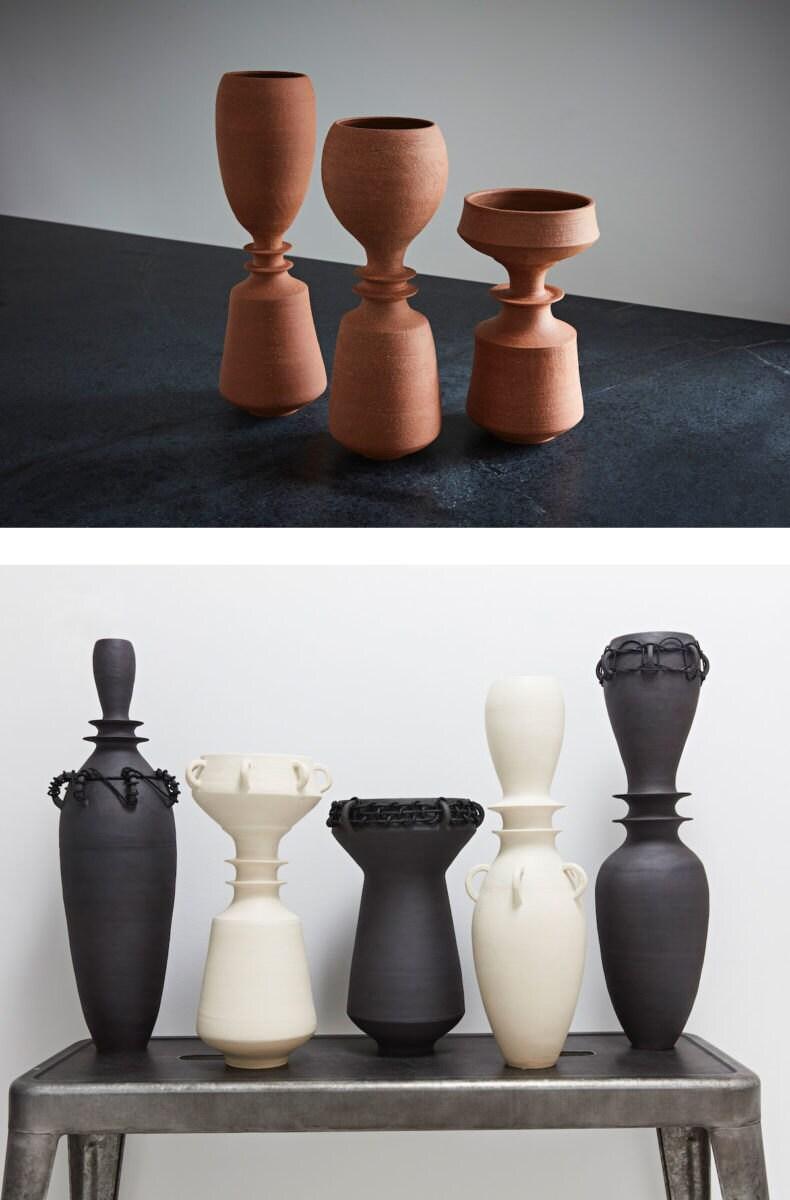 Altuzarra x Etsy vases from Sara Paloma Pottery