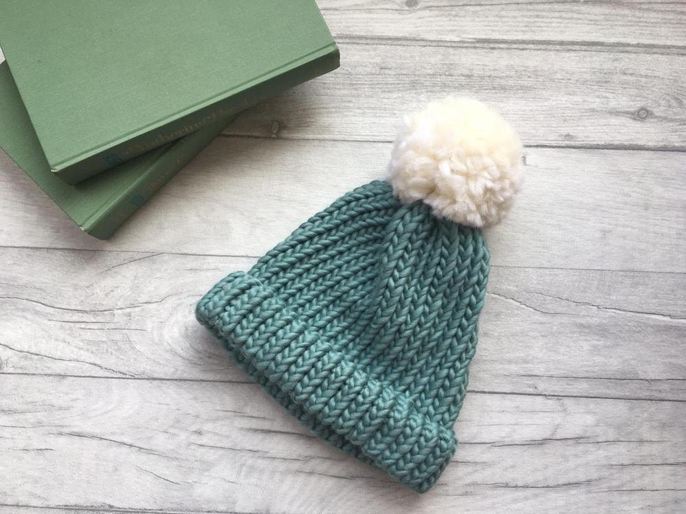 Chunky knit beanie from The Dorothy Day