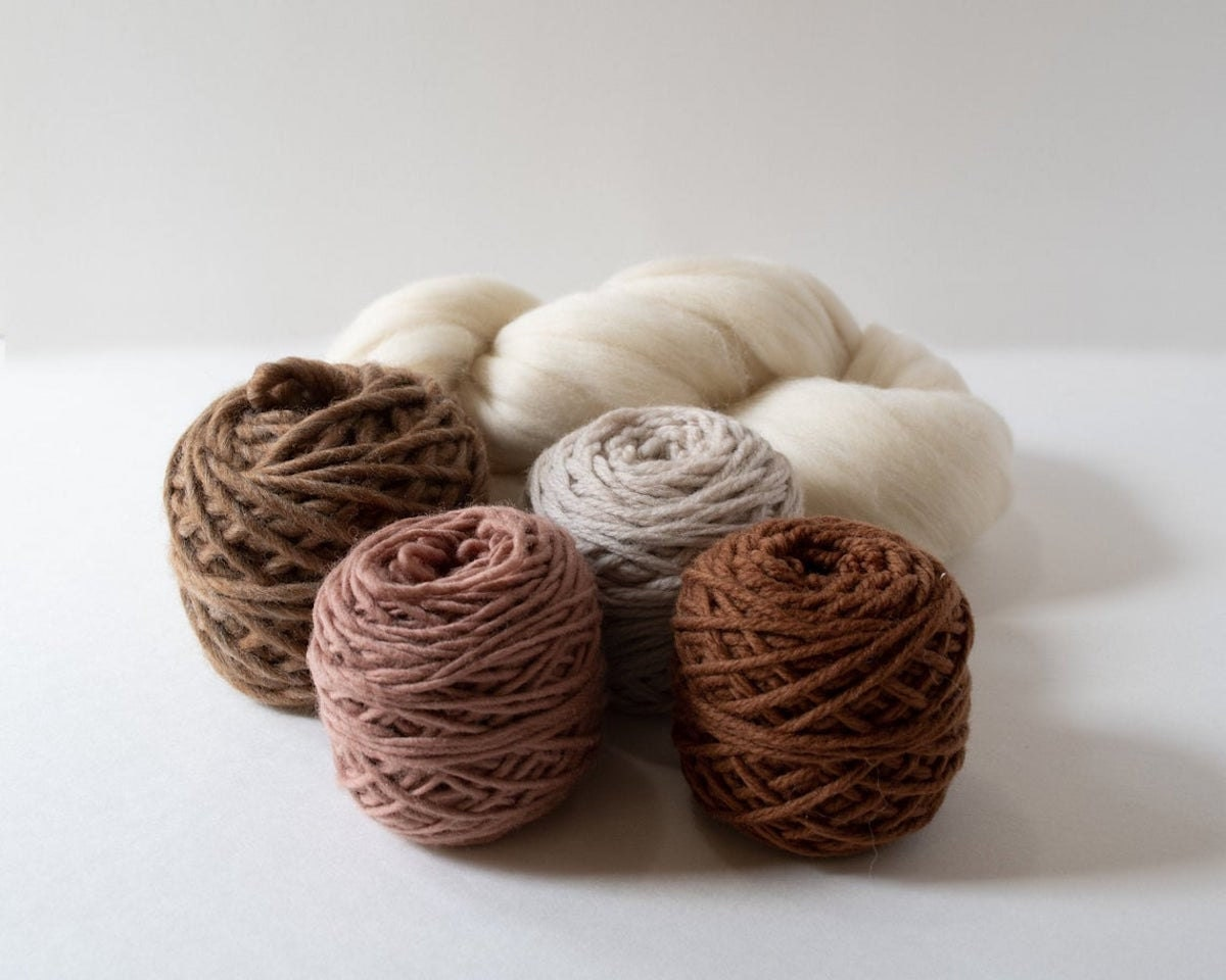 A yarn pack from Oake and Ashe