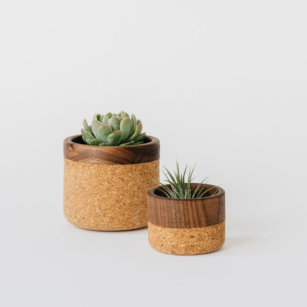 Cork and wood bowl from Melanie Abrantes