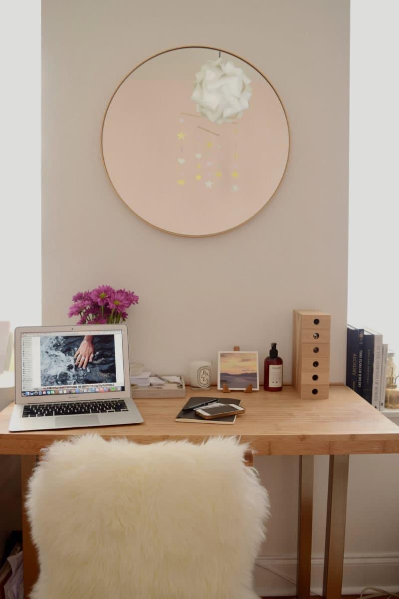Shuang's desk