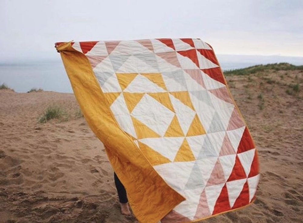 Downloadable quilt pattern and tutorial