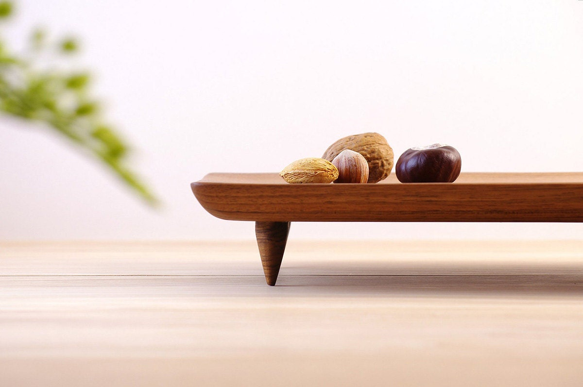 Wood serving board from Etsy