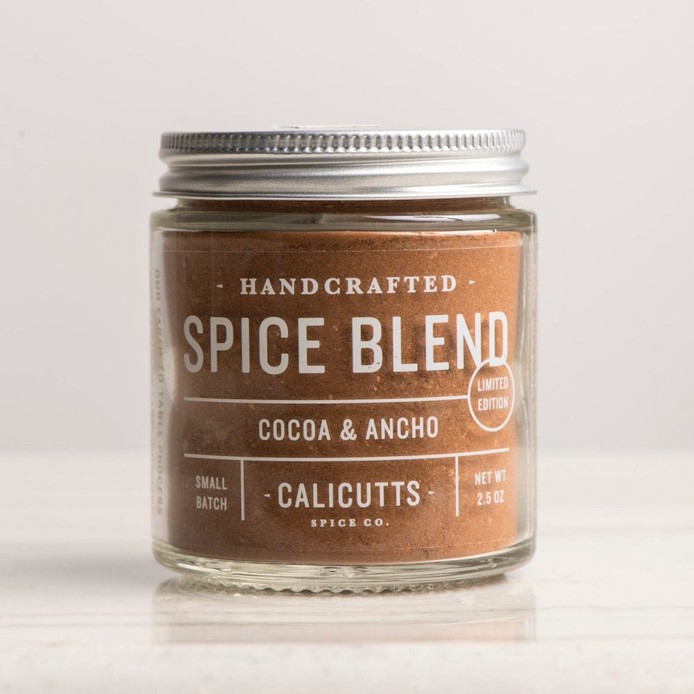 Cocoa and ancho spice blend from Etsy