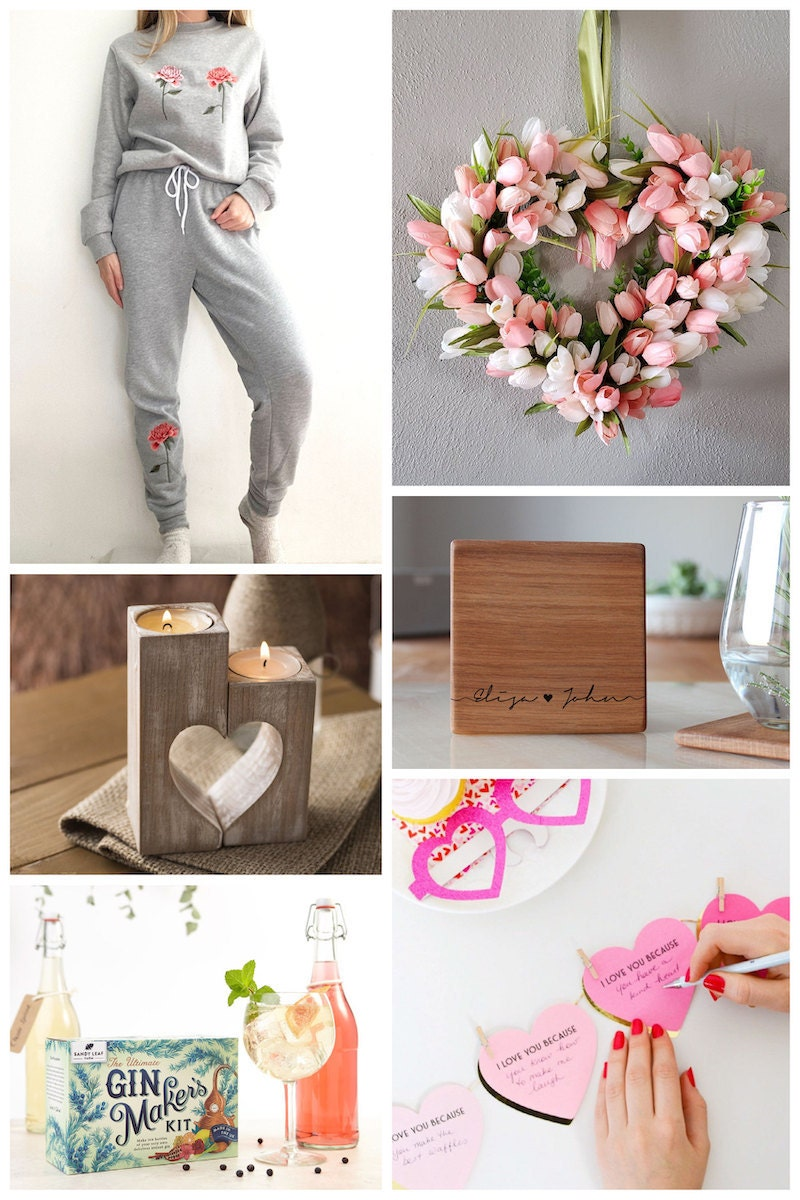 At-home Valentine's Day gifts and ideas from Etsy