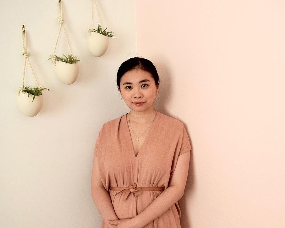 Portrait of Everli designer Shuang Everett Li