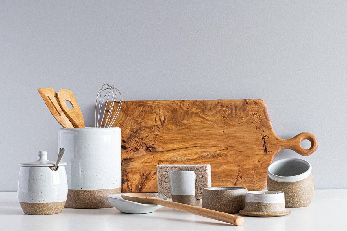Ceramic kitchenwares from Etsy