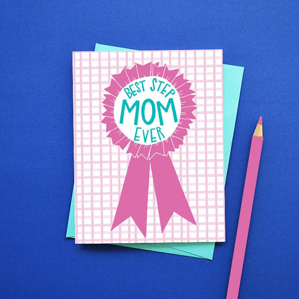 A unique Mother's Day card for a step-mom